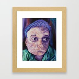 Portrait Of My Father Framed Art Print