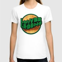larry T-shirts featuring Larry Legend by 3hreesUp