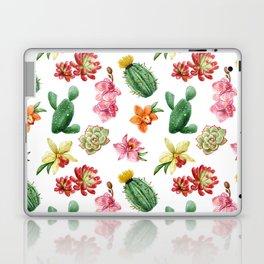 Watercolor Cactus on white background Laptop & iPad Skin