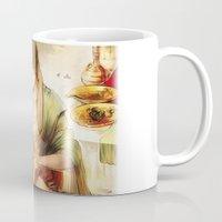 iwatobi Mugs featuring Arabian merman by Boisson