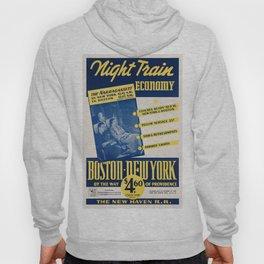 Vintage poster - Night Train Economy Hoody