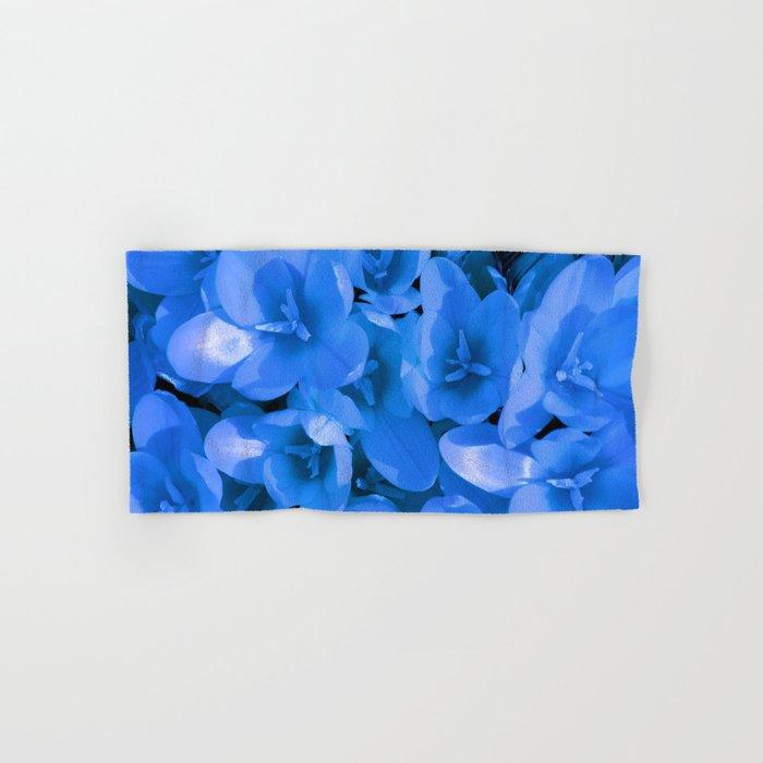 Blue Summer Hand & Bath Towel