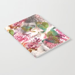 Animal flowers abstract Notebook