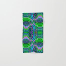 Techno Electric II (Ultraviolet) Hand & Bath Towel
