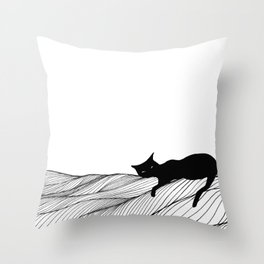 Lounging Throw Pillow