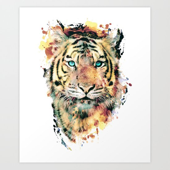 Tiger III Art Print