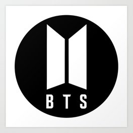 BTS logo Art Print