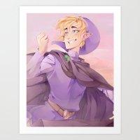 Adventures of Purple Art Print