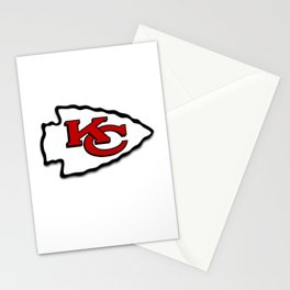 Kansas Chiefs Stationery Cards
