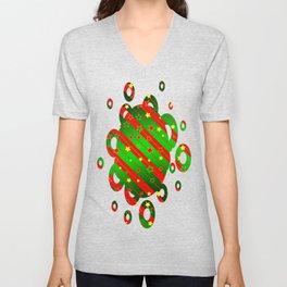 Christmas2 Unisex V-Neck