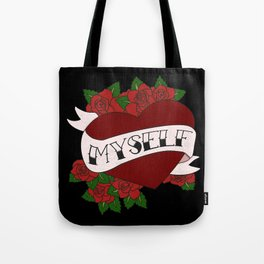 Self Valentine's Tote Bag