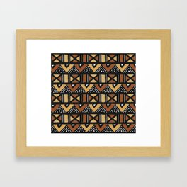 Mud cloth Mali Framed Art Print