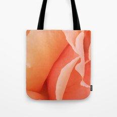 Painted Rose Petal Tote Bag
