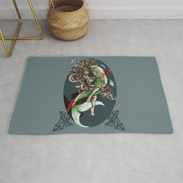 Christmas in Blood: PF 2013 Rug