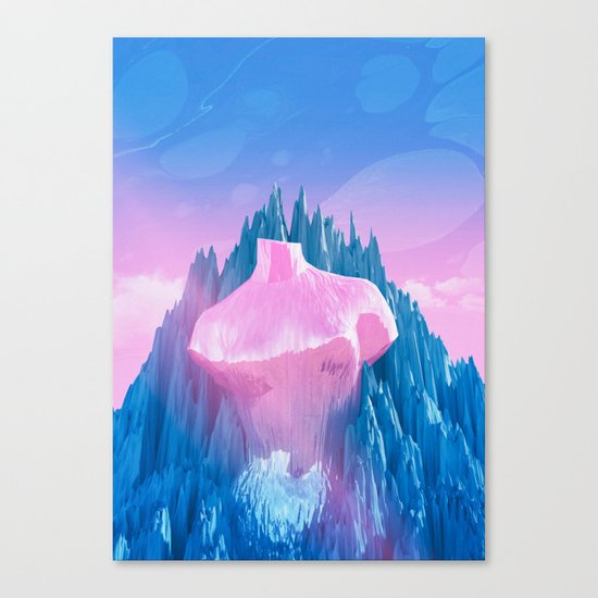 Mount Venus Canvas Print