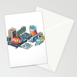 Pixel party Stationery Cards