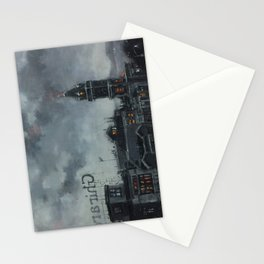 Chocolate Under Fog Stationery Cards