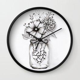 Primavera nel cuore Wall Clock