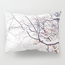 snowy trees in Montreal Pillow Sham