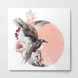 Visions Of Crystal Eyed Ravens Metal Print