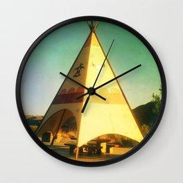 Roadside Attractions Wall Clock