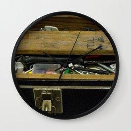 Tool Box Wall Clock