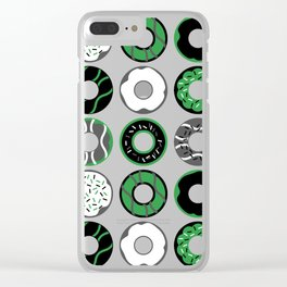 Agender Donuts Clear iPhone Case