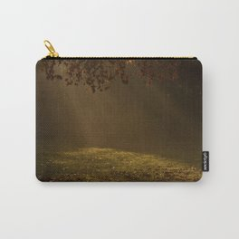 Sunbeams shining through Trees Carry-All Pouch