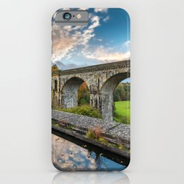 Chirk Aqueduct And Viaduct iPhone Case