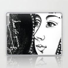 Queen Anne Boleyn Portrait  Laptop & iPad Skin