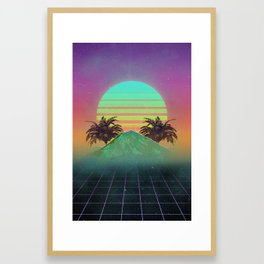 80s love Framed Art Print