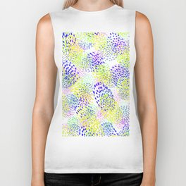 happy confetti Biker Tank