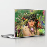 "tegan and sara Laptop & iPad Skins featuring "" Sara "" by shiva camille"