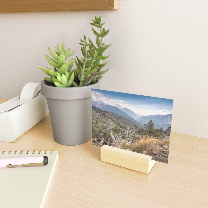 Inspiration Point along Pacific Crest Trail Mini Art Print