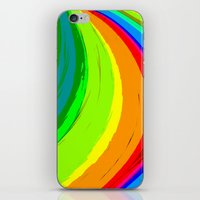 pride iPhone & iPod Skins featuring Pride by Vix Edwards - Fugly Manor Art