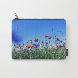 poppy flower no11 Carry-All Pouch