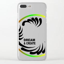 Dream & Create Clear iPhone Case