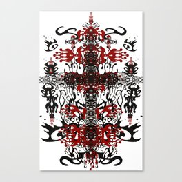 Blood OWL II Canvas Print