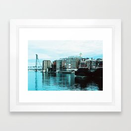 Portsmouth Harbor Framed Art Print