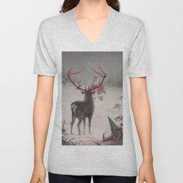 Rudolph uprising Unisex V-Neck