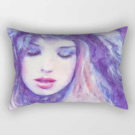 Song to the skies Rectangular Pillow
