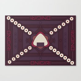 Onigiri Canvas Print
