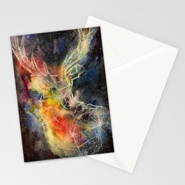 Deer constellation Stationery Cards
