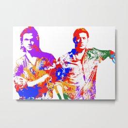 Brothers Metal Print