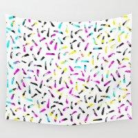 oscar wilde Wall Tapestries featuring Kim Wilde by elena + stephann