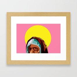 Mary in Peace Framed Art Print