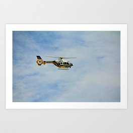 Collier County Copter Art Print