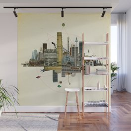 Collage City Mix 8 Wall Mural