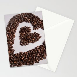 coffee heart #society6 #decor #buyart Stationery Cards