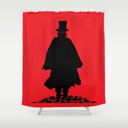 Vampire Shower Curtain